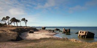 Fortaleza septentrional vieja abandonada Imagenes de archivo