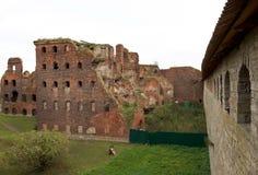 Fortaleza Shlisselburg (Oreshek) Imágenes de archivo libres de regalías