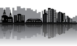 Fortaleza skyline Stock Images