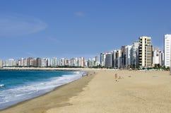 Fortaleza strand - Brazilië stock foto