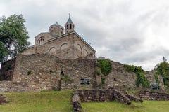 Fortaleza Tsarevets de Tsarevets Imágenes de archivo libres de regalías