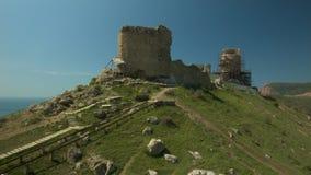 Fortaleza turca antigua del arpicordio metrajes