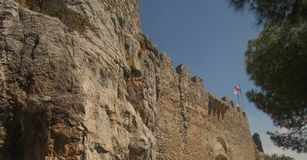 Fortaleza turca en Limassol, Chipre septentrional imagen de archivo