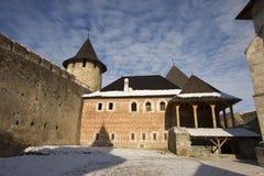 Fortaleza ucraniana Hotyn Imágenes de archivo libres de regalías