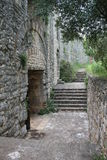 Fortaleza velha de Kassiopi, Grécia Fotografia de Stock Royalty Free