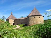 A fortaleza velha de Ladoga. Fotos de Stock Royalty Free