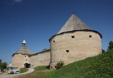 A fortaleza velha de Ladoga Foto de Stock Royalty Free