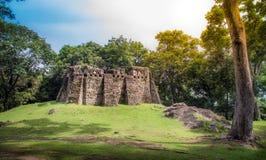Fortaleza velha de Singora antigo no distrito de Mueang, província de Songkhla, Tailândia Foto de Stock