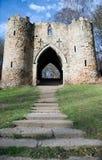 Fortaleza velha do castelo Imagens de Stock