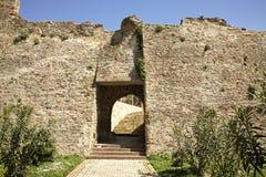 Fortaleza velha em Durres albânia imagens de stock royalty free