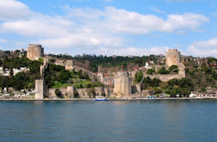 Fortaleza velha em Istambul Fotos de Stock