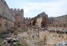 Fortaleza veneciana de Frangokastello crete imagen de archivo libre de regalías