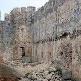 Fortaleza veneciana de Frangokastello crete imágenes de archivo libres de regalías