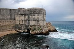 Fortaleza vieja Croacia fotografía de archivo