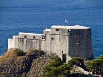 Fortaleza vieja de la ciudad de Dubrovnik Foto de archivo