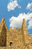 Fortaleza vieja en Feodosiya Fotografía de archivo libre de regalías