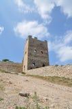 Fortaleza vieja en Feodosiya Fotografía de archivo