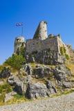 Fortaleza vieja en fractura, Croatia Fotos de archivo libres de regalías