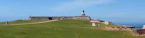 Fortaleza vieja en San Juan Imagenes de archivo