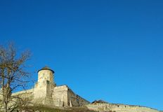 Fortaleza vieja, Kamenets-Podolsky, Ucrania Foto de archivo libre de regalías