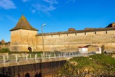 Fortaleza vieja Oreshek foto de archivo