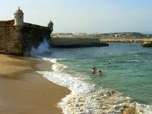 Fortaleza y mar Imagenes de archivo
