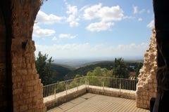 Fortaleza Yehiam Fotos de Stock Royalty Free