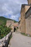 Fortalezas de la montaña de Georgia Imágenes de archivo libres de regalías