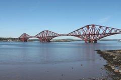 Fortbro Skottland fotografering för bildbyråer