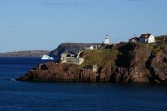 Forte Amherst, Terra Nova e Labrador, Canadá fotografia de stock royalty free
