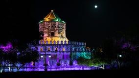 Forte Banguecoque de Phra Sumen, Tailândia Foto de Stock Royalty Free