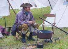 Forte Bridger Rendezvous 2014 Foto de Stock Royalty Free