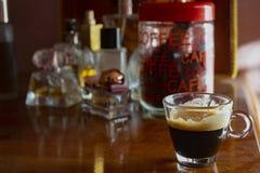 Forte caffè extra spumoso fotografia stock libera da diritti
