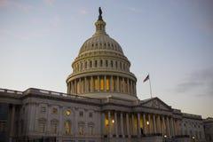 Forte costruzione del Campidoglio degli Stati Uniti, congresso degli Stati Uniti, Washington DC, U.S.A. fotografia stock libera da diritti