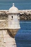 Forte- da Ponta de Bandeira i Lagos Portugal Royaltyfri Foto