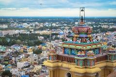 Forte da rocha de Tiruchirapalli Fotos de Stock Royalty Free