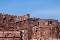 Forte de Agra, Índia Imagem de Stock