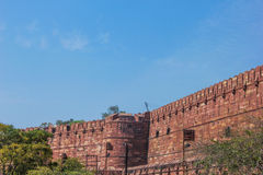 Forte de Agra, India Fotografia de Stock Royalty Free
