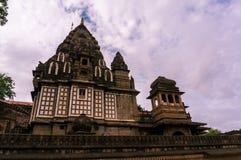 Forte de Ahilya durante as monções fotografia de stock royalty free