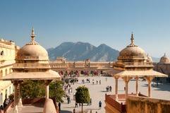 Forte de Amer, Jaipur Imagens de Stock