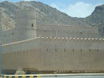 Forte de Anciant em Sultanat de Omã Fotografia de Stock