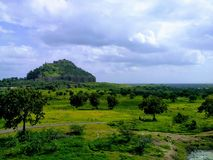 Forte de Daulatabad Fotografia de Stock Royalty Free