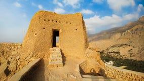 Forte de Dhayah em Ras Al Khaimah United Arab Emirates norte Fotografia de Stock