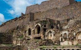 Forte de Golconda, Hyderabad - Índia Foto de Stock
