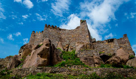 Forte de Golconda, Hyderabad - Índia Foto de Stock Royalty Free