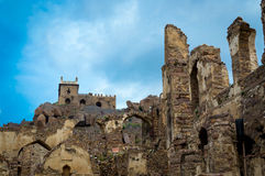 Forte de Golconda, Hyderabad - Índia Imagem de Stock