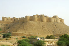 Forte de Jaisalmer Fotos de Stock Royalty Free