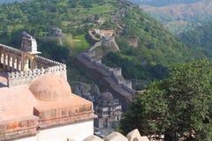 Forte de Kumbhalgar imagens de stock