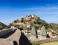 Forte de Kumbhalgarh, Rajasthan, Índia Foto de Stock