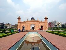 Forte de Lalbagh na cidade velha Dhaka, Bangladesh imagem de stock royalty free